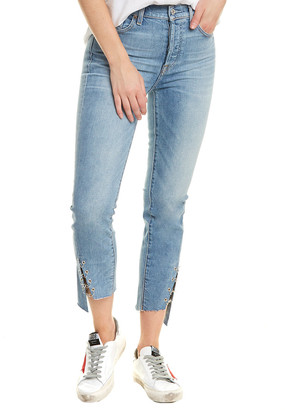 7 For All Mankind Edie Light Wash Pant