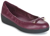 FitFlop SUPERBENDY BALLERINAS Deep / Plum