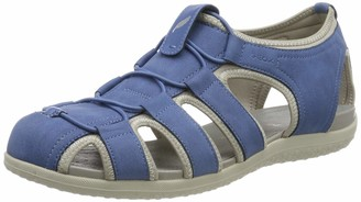 Geox Women's Vega D Closed Toe Sandals