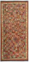 Arshs' Fine Rugs Kilim Arya Darron Flatweave Hand-Woven Wool Southwestern Rug