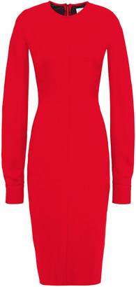 Victoria Beckham Cutout Crepe Dress