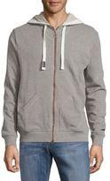 Fila Locker Room Heathered Long-Sleeve Jacket
