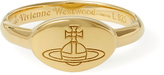 Vivienne Westwood Tilly Ring Yellow Gold Size XS