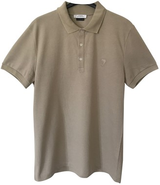 Versace Beige Cotton Polo shirts