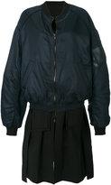Juun.J two piece bomber jacket