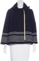 Boy By Band Of Outsiders Wool Short Coat