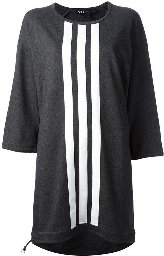 Y-3 striped dress