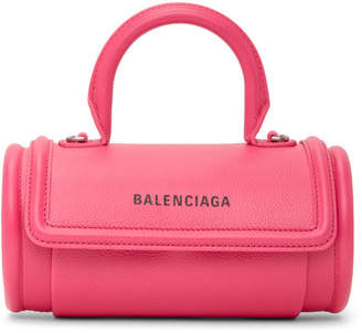 Balenciaga Pink Round Top Handle Bag