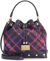 Juicy Couture Silverlake Plaid Bucket Bag