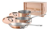 Mauviel 'M'Heritage - M'150S' 5-Piece Copper & Stainless Steel Cookware Set