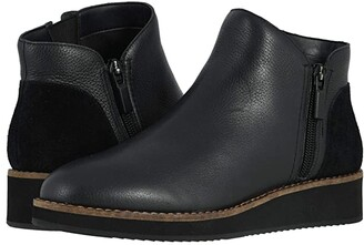 SoftWalk Wesley (Black) Women's Boots
