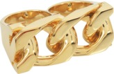 Marc Jacobs Double link ring