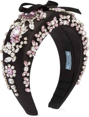 Prada embellished headband