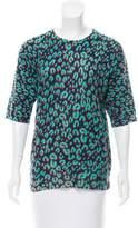 Louis Vuitton Animal Print Cashmere Sweater