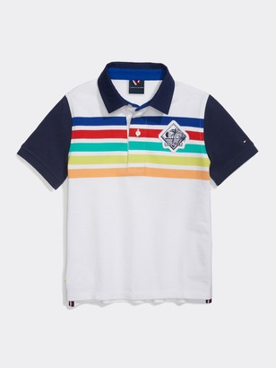 Tommy Hilfiger Stripe Crested Polo