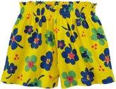 Marimekko Makoisa Shorts (Toddler) - Yellow Print-4 Years