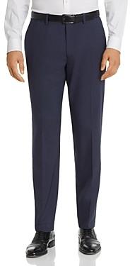 Theory Mayer Tonal Check Slim Fit Suit Pants