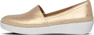 FitFlop Casa Metallic Leather Loafers