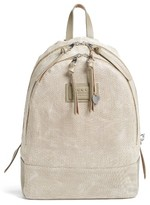 John Varvatos Men's Suede Backpack - Beige