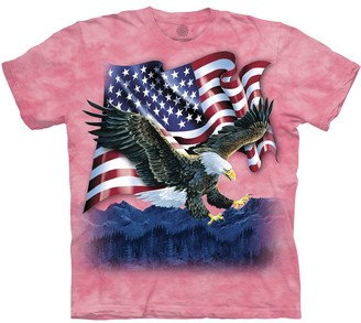 The Mountain Eagle Talon Flag Adult T-Shirt