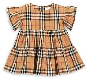 Burberry Baby Girl's Alima Plaid Cotton Dress