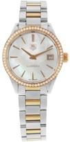 Tag Heuer Carrera WAR1353.BD0779 18K Rose Gold and Stainless Steel 32mm Womens Watch
