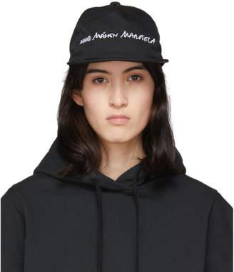 MM6 MAISON MARGIELA Black Logo Cap