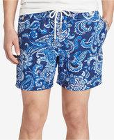 Polo Ralph Lauren Men's Paisley Traveler Swim Trunks