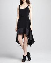 Elizabeth and James Portia Satin-Hem Dress