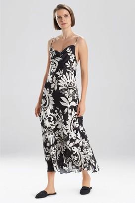 Natori Mantilla Scroll Gown