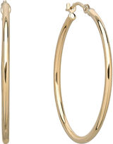 JCPenney FINE JEWELRY Infinite Gold 14K Yellow Gold Hoop Earrings
