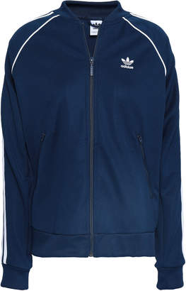 adidas Embroidered Jersey Bomber Jacket