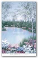 "McGaw Graphics Springtime Melody III by Diane Romanello 36""x24"" Art Print Poster"