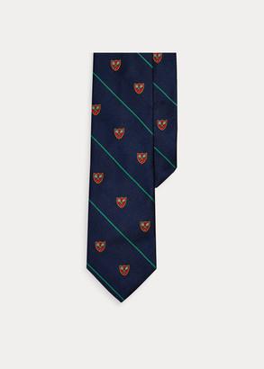 Ralph Lauren Tennis Silk Narrow Club Tie