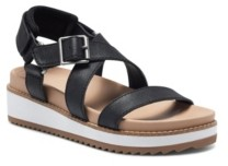 Lucky Brand Women's Idenia Casual Wedge Sandals Women's Shoes