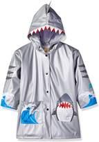 Kidorable Little Boys' Toddler Shark Pu All-Weather Raincoat