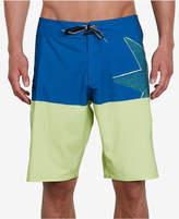 Volcom Men's Lido Athletic-Fit Colorblocked Logo-Print Boardshorts
