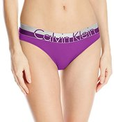 Calvin Klein Women's Magnetic Force Heathered Bikini Panty