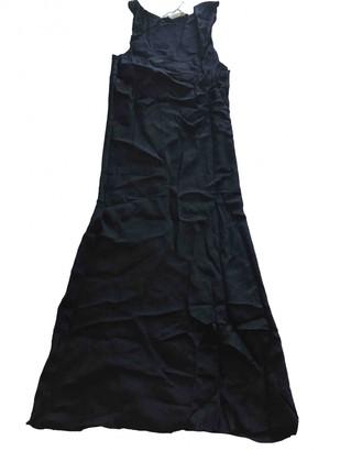 6397 Black Viscose Dresses