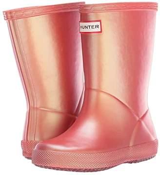 Hunter First Classic Nebular (Toddler) (Rhythmic Pink) Kids Shoes