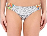 Rip Curl Women's Mayan Sun Luxe Hipster Bikini Bottom with Strappy Side Cutouts