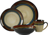 Pfaltzgraff Galaxy Red 16-pc. Reactive Glaze Dinnerware Set