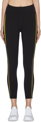 Particle Fever Quick-dry Contrasted Side Strip Leggings