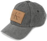 Calvin Klein Jeans logo patch hat