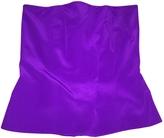 Gucci Purple Silk Top