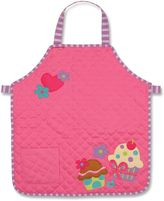 Stephen Joseph Cupcake Quilted Apron in Pink
