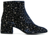 Ash embroidered ankle boots