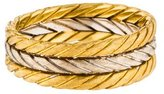 Buccellati 18K Braided Band
