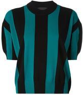 Diesel Black Gold striped shortsleeved jumper