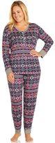 Cuddl Duds Plus Size Pajamas: Starry Night 2-Piece Pajama Set